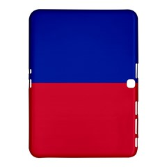 Civil Flag Of Haiti (without Coat Of Arms) Samsung Galaxy Tab 4 (10 1 ) Hardshell Case  by abbeyz71