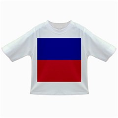 Civil Flag Of Haiti (without Coat Of Arms) Infant/toddler T Shirts by abbeyz71