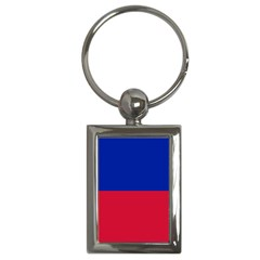 Civil Flag Of Haiti (without Coat Of Arms) Key Chains (rectangle)  by abbeyz71