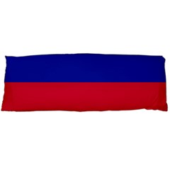 Civil Flag Of Haiti (without Coat Of Arms) Body Pillow Case (dakimakura) by abbeyz71