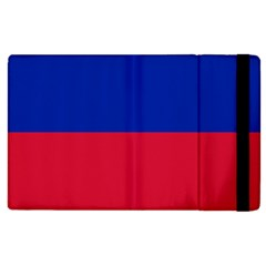 Civil Flag Of Haiti (without Coat Of Arms) Apple Ipad 2 Flip Case by abbeyz71