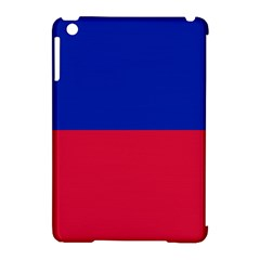 Civil Flag Of Haiti (without Coat Of Arms) Apple Ipad Mini Hardshell Case (compatible With Smart Cover) by abbeyz71