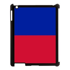 Civil Flag Of Haiti (without Coat Of Arms) Apple Ipad 3/4 Case (black) by abbeyz71