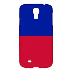 Civil Flag Of Haiti (without Coat Of Arms) Samsung Galaxy S4 I9500/i9505 Hardshell Case by abbeyz71