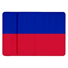 Civil Flag Of Haiti (without Coat Of Arms) Samsung Galaxy Tab 8 9  P7300 Flip Case by abbeyz71