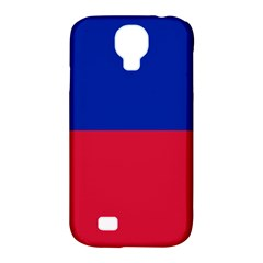 Civil Flag Of Haiti (without Coat Of Arms) Samsung Galaxy S4 Classic Hardshell Case (pc+silicone) by abbeyz71