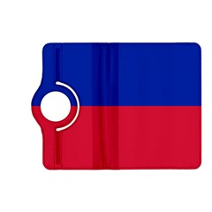 Civil Flag Of Haiti (without Coat Of Arms) Kindle Fire Hd (2013) Flip 360 Case by abbeyz71