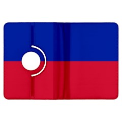 Civil Flag Of Haiti (without Coat Of Arms) Kindle Fire Hdx Flip 360 Case by abbeyz71