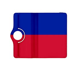 Civil Flag Of Haiti (without Coat Of Arms) Kindle Fire Hdx 8 9  Flip 360 Case by abbeyz71