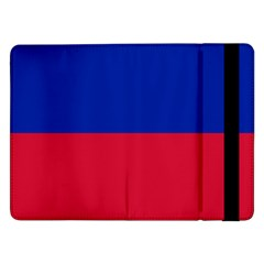 Civil Flag Of Haiti (without Coat Of Arms) Samsung Galaxy Tab Pro 12 2  Flip Case by abbeyz71