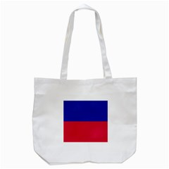 Civil Flag Of Haiti (without Coat Of Arms) Tote Bag (white) by abbeyz71