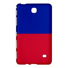 Civil Flag Of Haiti (without Coat Of Arms) Samsung Galaxy Tab 4 (7 ) Hardshell Case  by abbeyz71