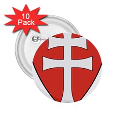 Coat Of Arms Of Apostolic Kingdom Of Hungary, 1172 1196 2 25  Buttons (10 Pack)  by abbeyz71