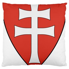 Coat of Arms of Apostolic Kingdom of Hungary, 1172-1196 Large Cushion Case (Two Sides) by abbeyz71
