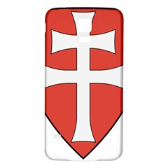 Coat Of Arms Of Apostolic Kingdom Of Hungary, 1172 1196 Samsung Galaxy S5 Back Case (white) by abbeyz71