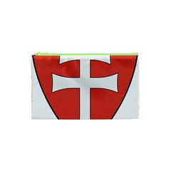 Coat Of Arms Of Apostolic Kingdom Of Hungary, 1172 1196 Cosmetic Bag (xs) by abbeyz71