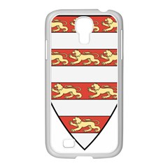 Hungarian Kings (1000 1301) & Seal Of King Emeric (1202) Samsung Galaxy S4 I9500/ I9505 Case (white) by abbeyz71