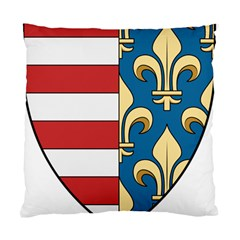 Angevins Dynasty Of Hungary Coat Of Arms Standard Cushion Case (one Side) by abbeyz71