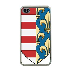 Angevins Dynasty Of Hungary Coat Of Arms Apple Iphone 4 Case (clear) by abbeyz71