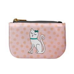 Cute Cat Character Mini Coin Purses by TastefulDesigns