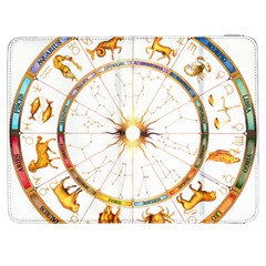 Zodiac Institute Of Vedic Astrology Samsung Galaxy Tab 7  P1000 Flip Case by Onesevenart