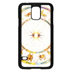 Zodiac Institute Of Vedic Astrology Samsung Galaxy S5 Case (black) by Onesevenart