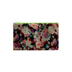 Japanese Ethnic Pattern Cosmetic Bag (xs) by Onesevenart
