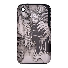 Chinese Dragon Tattoo Iphone 3s/3gs by Onesevenart