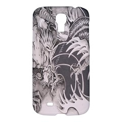 Chinese Dragon Tattoo Samsung Galaxy S4 I9500/i9505 Hardshell Case by Onesevenart