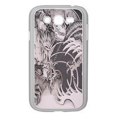 Chinese Dragon Tattoo Samsung Galaxy Grand Duos I9082 Case (white) by Onesevenart