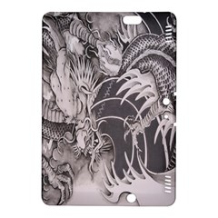 Chinese Dragon Tattoo Kindle Fire Hdx 8 9  Hardshell Case by Onesevenart