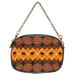 Traditiona  Patterns And African Patterns Chain Purses (two Sides)  by Onesevenart