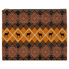 Traditiona  Patterns And African Patterns Cosmetic Bag (xxxl)  by Onesevenart