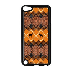 Traditiona  Patterns And African Patterns Apple Ipod Touch 5 Case (black) by Onesevenart