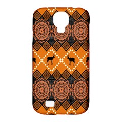 Traditiona  Patterns And African Patterns Samsung Galaxy S4 Classic Hardshell Case (pc+silicone) by Onesevenart