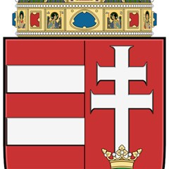 Medieval Coat Of Arms Of Hungary  Magic Photo Cubes by abbeyz71