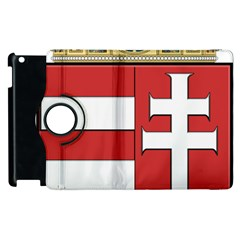 Medieval Coat Of Arms Of Hungary  Apple Ipad 3/4 Flip 360 Case by abbeyz71