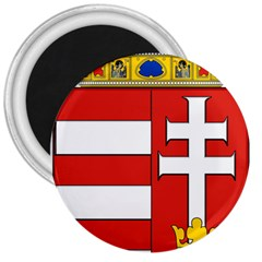 Medieval Coat Of Arms Of Hungary  3  Magnets by abbeyz71