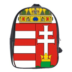 Medieval Coat of Arms of Hungary  School Bags (XL)  by abbeyz71