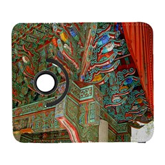 Traditional Korean Painted Paterns Galaxy S3 (flip/folio) by Onesevenart