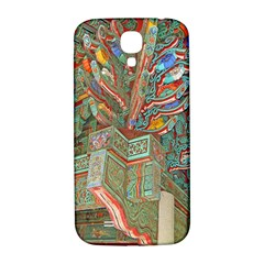 Traditional Korean Painted Paterns Samsung Galaxy S4 I9500/i9505  Hardshell Back Case by Onesevenart