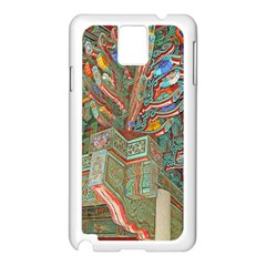 Traditional Korean Painted Paterns Samsung Galaxy Note 3 N9005 Case (white) by Onesevenart