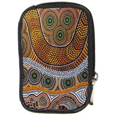 Aboriginal Traditional Pattern Compact Camera Cases by Onesevenart