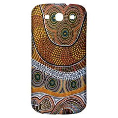 Aboriginal Traditional Pattern Samsung Galaxy S3 S Iii Classic Hardshell Back Case by Onesevenart