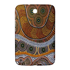 Aboriginal Traditional Pattern Samsung Galaxy Note 8 0 N5100 Hardshell Case  by Onesevenart