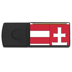 Coat Of Arms Of Hungary Usb Flash Drive Rectangular (4 Gb) by abbeyz71
