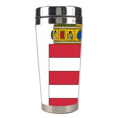 Coat Of Arms Of Hungary Stainless Steel Travel Tumblers by abbeyz71