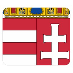 Coat Of Arms Of Hungary Double Sided Flano Blanket (small)  by abbeyz71