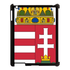 Coat Of Arms Of Hungary  Apple Ipad 3/4 Case (black) by abbeyz71