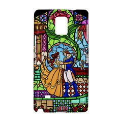 Happily Ever After 1   Beauty And The Beast Samsung Galaxy Note 4 Hardshell Case by storybeth